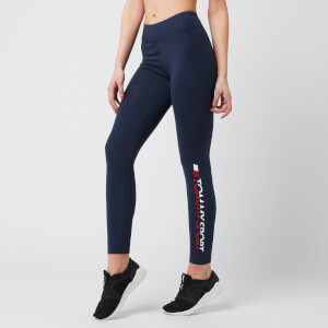 Tommy Sport Women's 7/8 Leggings - Sport Navy