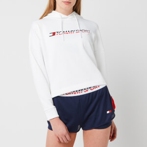 Tommy Hilfiger Sport Women's Cropped Hoody - PVH White