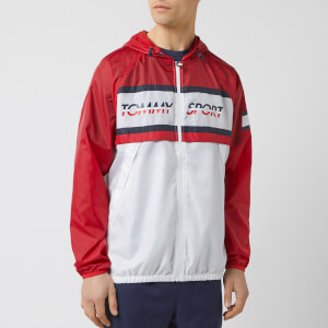 eec70d47 Tommy Hilfiger Sport Men's Windbreaker Jacket - True Red