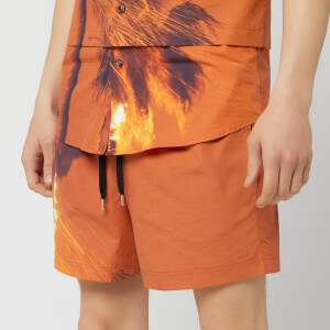 Matthew Miller Men's Kohner Shorts - Burning Print