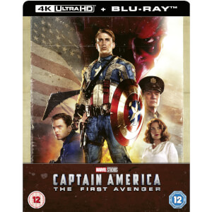 Captain America: The First Avenger 4K Ultra HD (Includes 2D Blu-ray) Zavvi UK Exclusive SteelBook