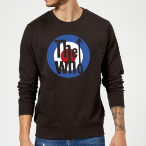 The Who Target Sweatshirt - Schwarz