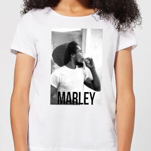 Bob Marley AB BM Damen T-Shirt - Weiß