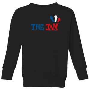 The Jam Text Logo Kids' Sweatshirt - Black