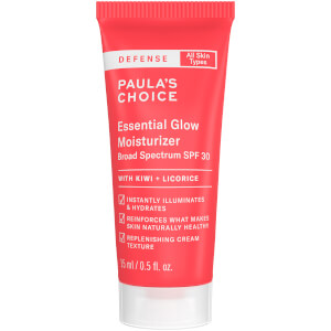 Paula's Choice Defense Essential Glow SPF30 Broad Spectrum Moisturiser 15ml (Free Gift)