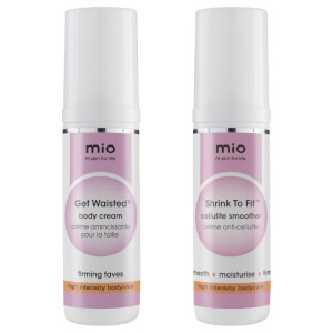 Mio Skincare Get Waisted and Shrink to Fit Travel Size Bundle
