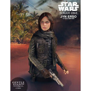 Gentle Giant Star Wars Jyn Erso Mini Bust (Seal Commander)