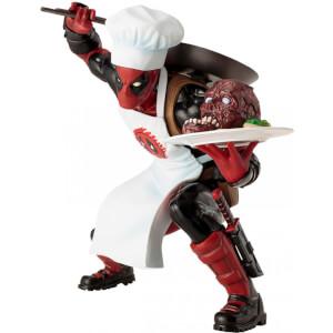 Kotobukiya Marvel Universe Cooking Deadpool ArtFX+ beeld