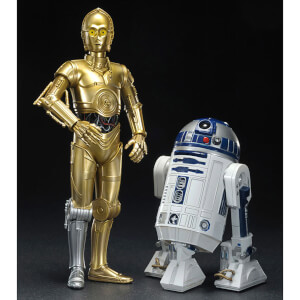 Kotobukiya Star Wars C-3PO and R2-D2 ArtFX+ Statue (2 Pack)