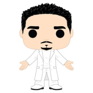 Pop! Rocks Backstreet Boys Kevin Richardson Funko Pop! Figuur