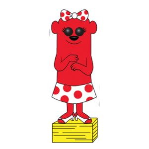 Otter Pops - Strawberry Short Kook Pop! Vinyl Figur