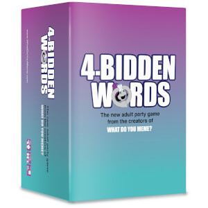 4-Bidden Words Adult Party Game