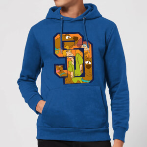 Scooby Doo Collegiate Hoodie - Royal Blue