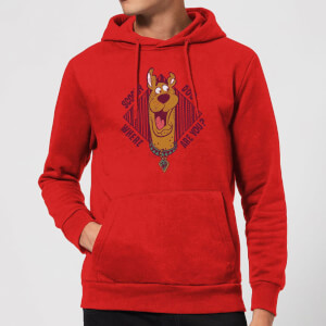 Scooby Doo Where Are You? Hoodie - Red