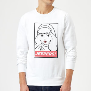 Scooby Doo Jeepers! Sweatshirt - White