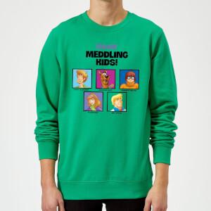 Scooby Doo Meddling Kids Sweatshirt - Kelly Green
