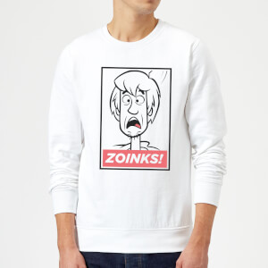 Scooby Doo Zoinks! Sweatshirt - White