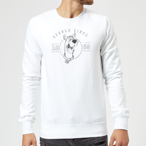 Scooby Doo Scared Since '69 Sweatshirt - White