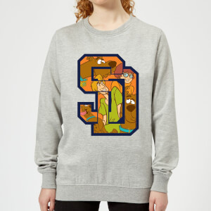 Scooby Doo Collegiate Women's Sweatshirt - Grey