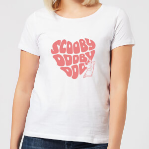 Scooby Doo I Ruv You Women's T-Shirt - White