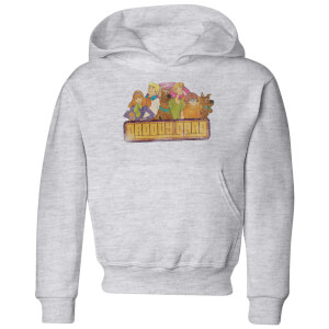 Scooby Doo Groovy Gang Kids' Hoodie - Grey