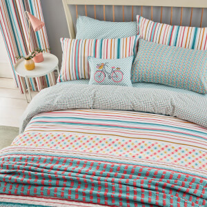 Helena Springfield Trixie Bedspread - Duck Egg