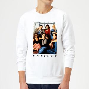 Friends Group Photo Sweatshirt - White