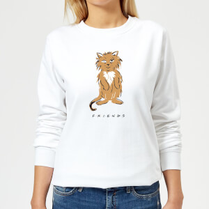 Friends Smelly Cat Women's Sweatshirt - White