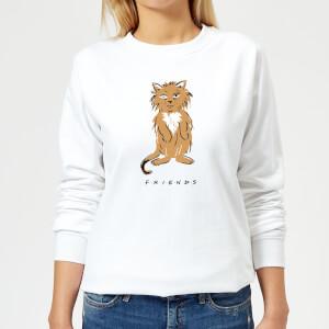 Friends Smelly Cat Women's Sweatshirt - White