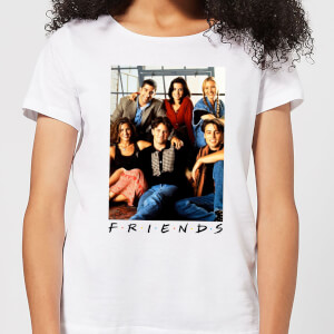 Friends Group Photo Women's T-Shirt - White