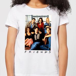Friends Group Photo dames t-shirt - Wit