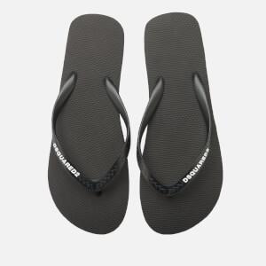 Dsquared2 Men's Gomma Flip Flops - Black