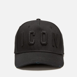 Dsquared2 Men's Icon Cap - Nero Nero