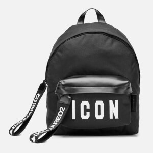 Dsquared2 Men's Icon Backpack - Black/White