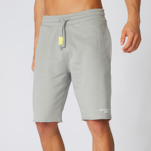 Neon Signature Sweat Shorts - Grey