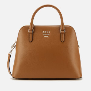DKNY Women's Whitney Large Dome Satchel Bag - Driftwood