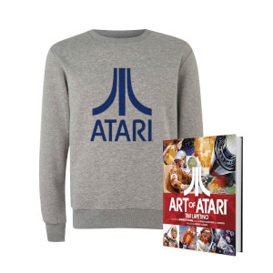 Lot Atari Officiel : sweat + livre
