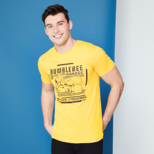 Transformers Bumblebee Garage T-Shirt - Jaune