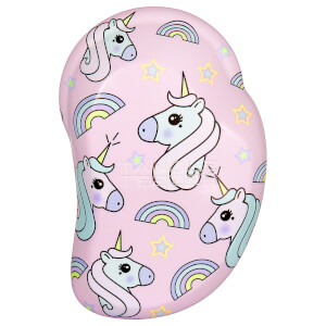 Tangle Teezer Original Mini Detangling Hairbrush - Rainbow The Unicorn Print
