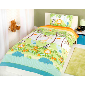 Rapport Jungle Boogie Duvet Set - Multi