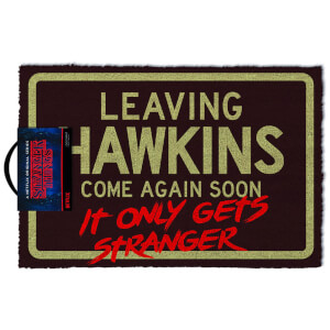 "Felpudo Stranger Things ""Leaving Hawkins"" - Exclusivo Zavvi"