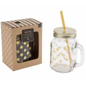 Absolutley Fabulous Drinking Jar