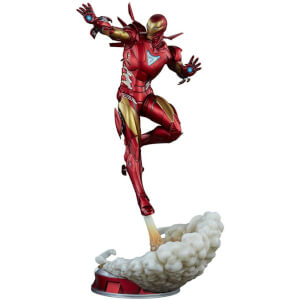 Sideshow Collectibles Marvel Comics Adi Granov Artist Series 1/5 Iron Man Extremis Mark II 55 cm