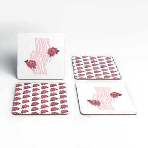Girls Support Girls Coaster Set