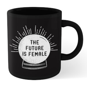 The Future Is Female Mug - Black