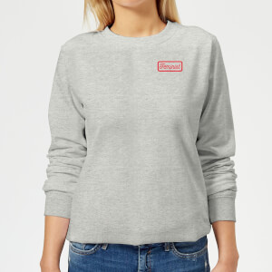 Feminist Women's Sweatshirt - Grey