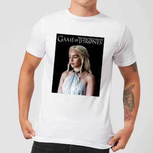 Game of Thrones Daenerys Men's T-Shirt - White