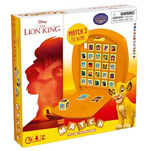 Top Trumps Match Board Game - The Lion King Edition