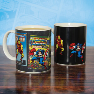Mug thermoréactif – Marvel Comics