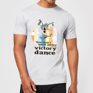 I Am Weasel You Don't Need Pants For The Victory Dance Men's T-Shirt - Grey